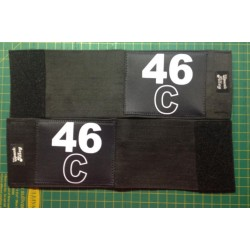 Arm Bands Double Width for Captain & Alternate